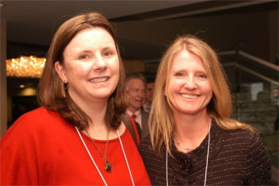 Kendra Matthews and Kate Wilkinson at the 2014 Roberts Deiz Awards Dinner 132-600